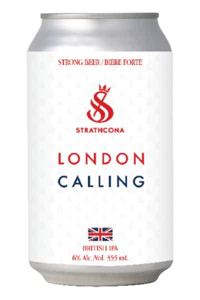 Strathcona London Calling British IPA