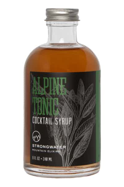 Strongwater Alpine Tonic Syrup