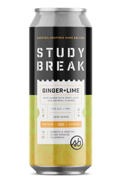 Study Break Ginger + Lime Hard Seltzer