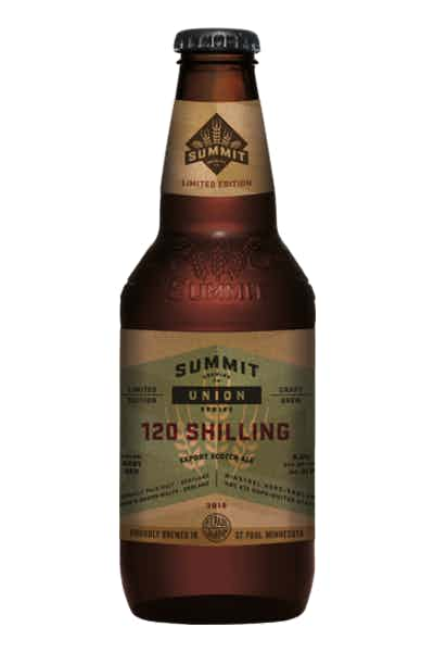 Summit Union Series #7 120 Shilling Export Scotch Ale