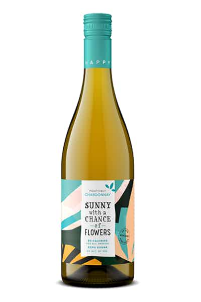 Sunny With A Chance Of Flowers Chardonnay