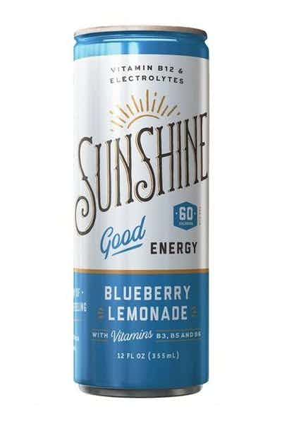 Sunshine Blueberry Lemon
