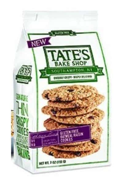 Tate's Oatmeal Raisin Cookies