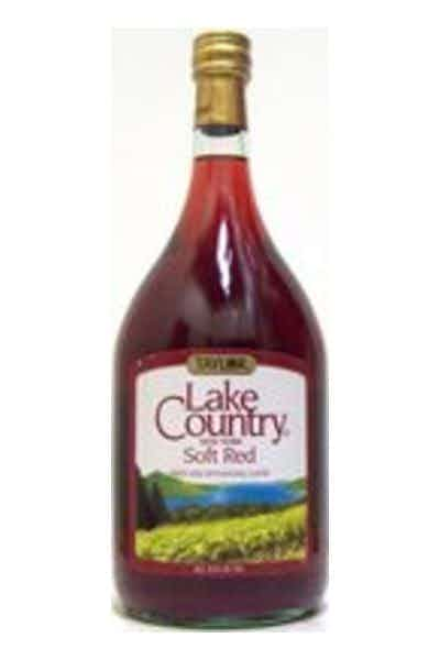 Taylor Lake Country New York Soft Red