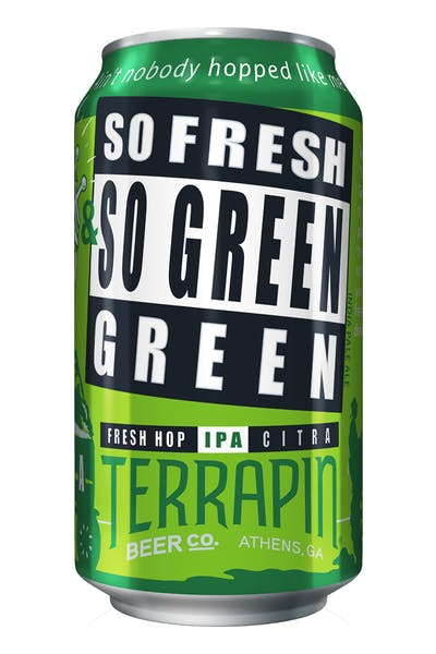 Terrapin So Fresh & So Green, Green Fresh Hopped IPA
