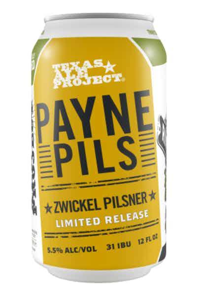 Texas Ale Project Payne Pilsner