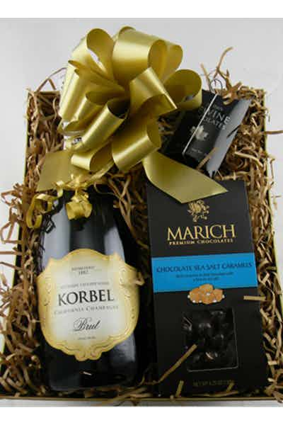 The Champagne And Chocolate Kit