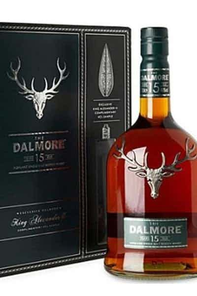 The Dalmore 15 Year Gift Pack w/ 50ml King Alexander