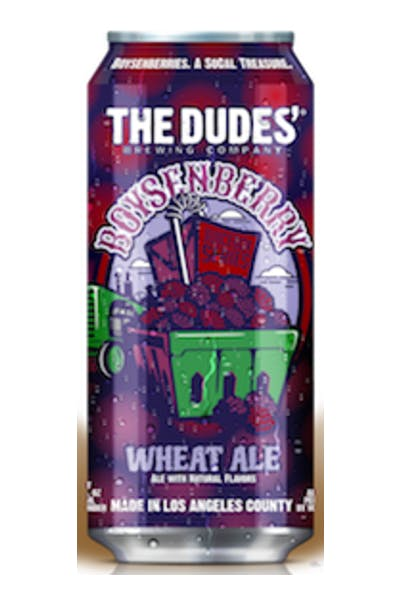 The Dudes Boysenberry