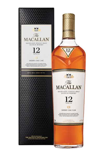 The Macallan Sherry Oak 12 Year Old Single Malt Scotch Whisky