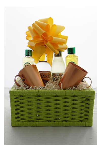 The Moscow Mule Basket