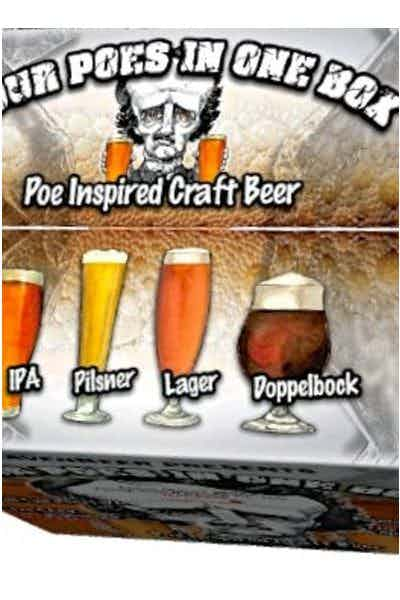 RavenBeer Four Poes In One Box