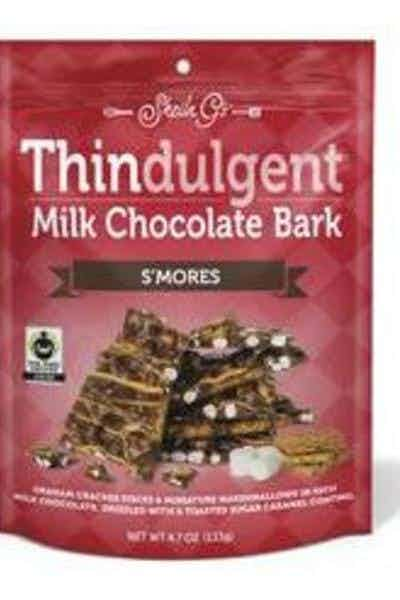 Thindulgent S'mores Milk Chocolate Bark