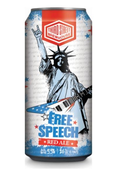 Third Street Free Speech Red Ale