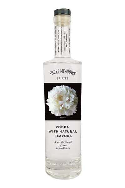 Three Meadows Spirits Peony Vodka