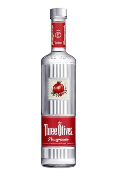 Three Olives Pomegranate Vodka