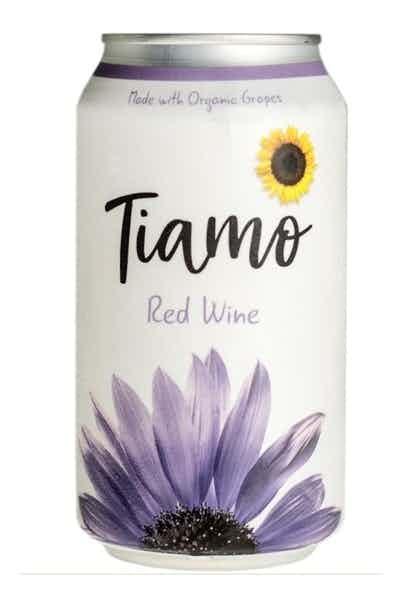 Tiamo Organic Red Canned Wine