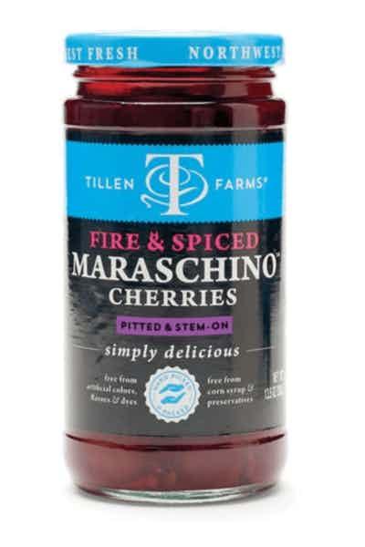 Tillen Fire & Spiced Maraschino Cherries