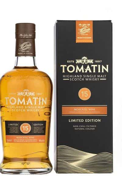 Tomatin 15 Years Moscatel Casks Limited Edition