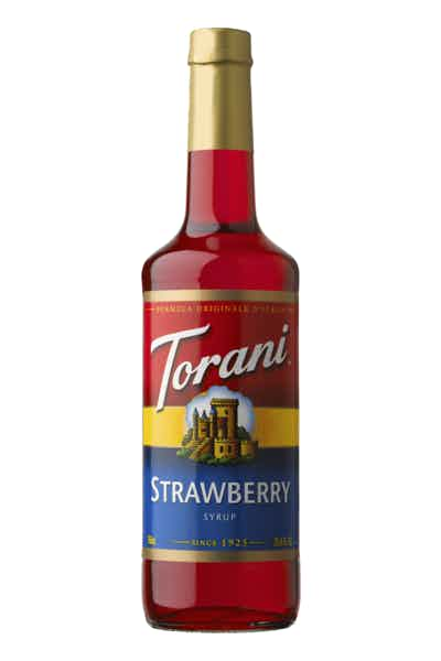 Torani Strawberry Syrup