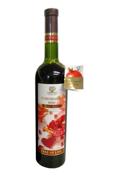 Tree of Life Pomegranate Wine