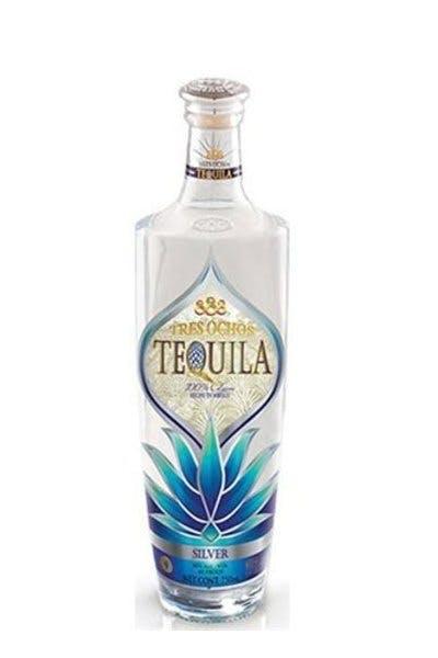 Tres Ochos Silver Tequila