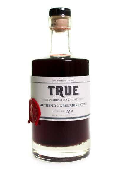 True Authentic Grenadine Syrup
