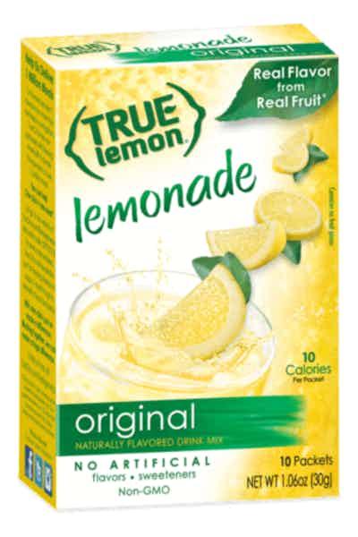 True Citrus Lemon Powdered Drink Mix
