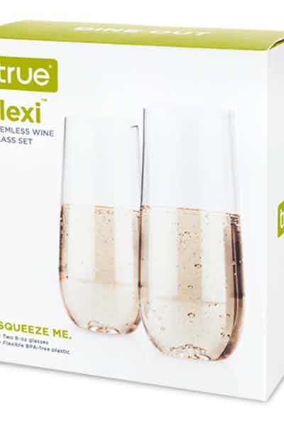 True Flexi Champagne Glass 2 Pack