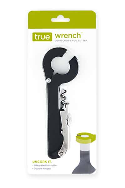 True Wrench Corkscrew And Foil Cutter