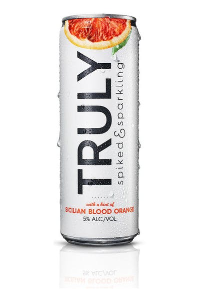 Truly Spike & Sparkling Blood Orange
