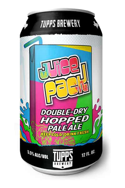 TUPPS Juice Pack Double Dry Hopped Pale Ale