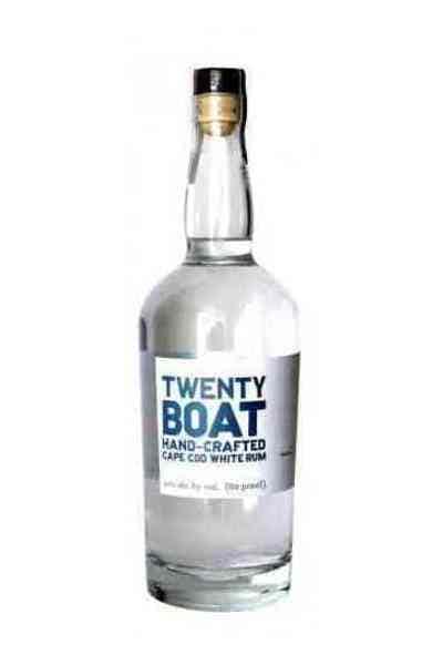 Twenty Boat Cape Cod White Rum