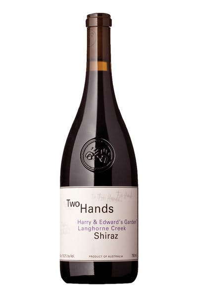 Two Hands Shiraz Harry & Edward's