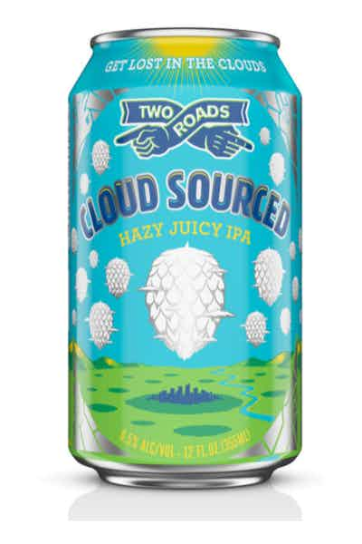 Two Roads Cloud Sourced - Hazy, Juicy IPA