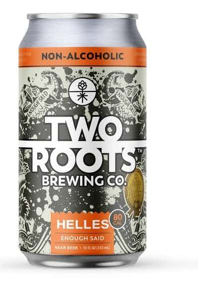 Two Roots Brewing Co. Enough Said - Non-Alcoholic Helles