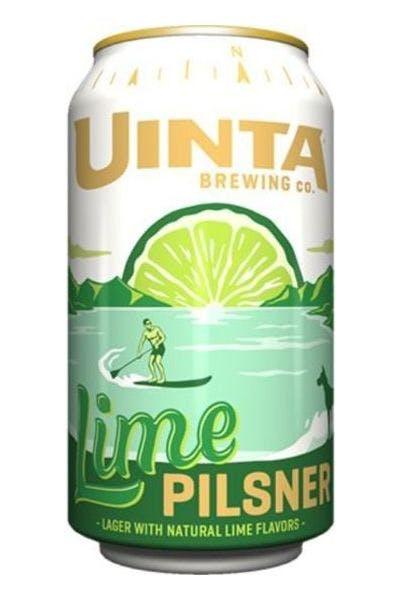 Uinta Lime Pilsner