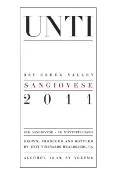 Unti Dry Creek Sangiovese