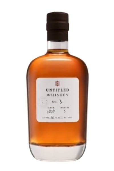 One Eight Distilling Untitled Whiskey No. 3
