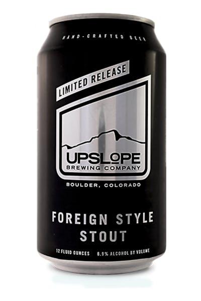 Upslope Foreign Style Stout