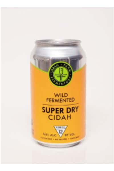 Urban Farm Fermentory Super Dry Cidah