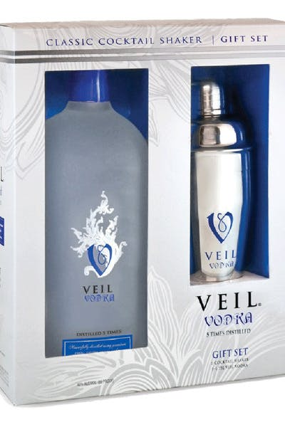 Veil Vodka Gift Pack With Shaker