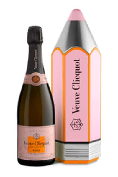 Veuve Clicquot Rose in Pencil