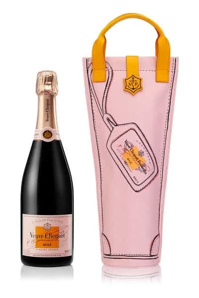 Veuve Clicquot Rose Shopping Bag