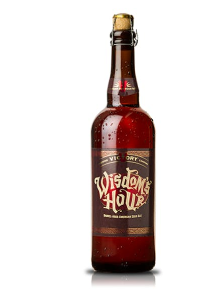 Victory Wisdom's Hour Barrel-Aged American Sour Ale