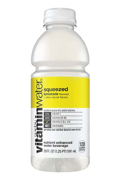 Vitamin Water Squeezed Lemonade