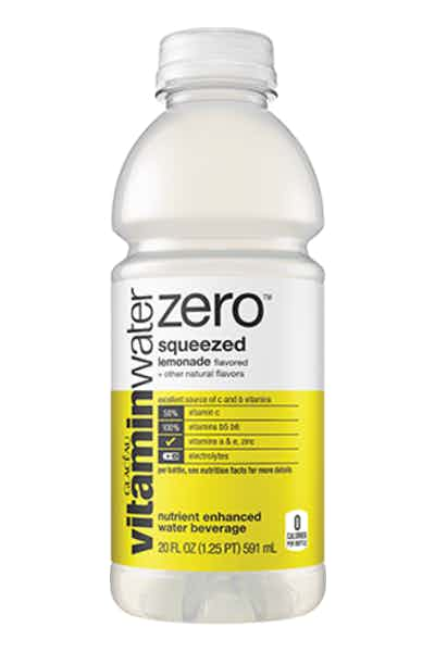 Vitamin Water Zero Squeezed
