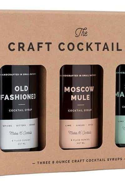 W&P Cocktail Syrup Set