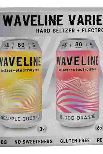 Waveline Seltzer + Electrolytes - Variety Pack