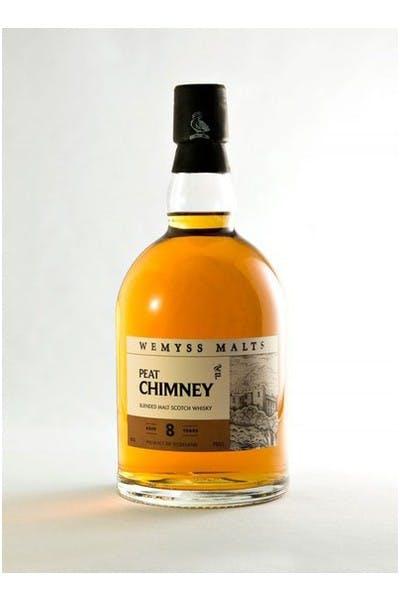 Wemyss Malts Scotch Peat Chimney 8 Year